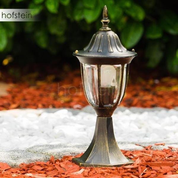 Hofstein Ribadeo E27 schwarz gold