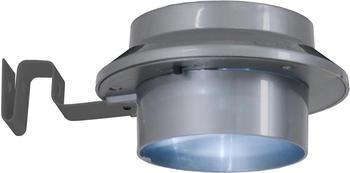 Näve LED Solar-Dachrinnenleuchte 6er-Set grau