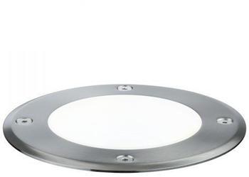 Paulmann Plug & Shine Bodeneinbauleuchte IP67 4000K 20° 6W silber (93911)