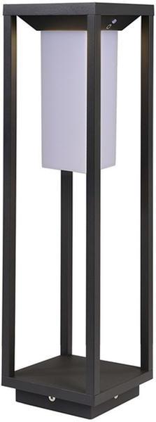 Deko-Light Samas LED Solar-Laterne 2,2W 3000K dunkelgrau (733050)