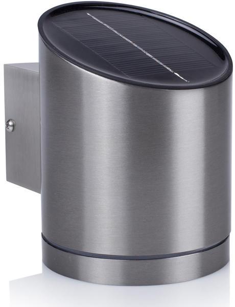 Smartwares Solar Edelstahl Wandstrahler 10cm (GWS-004-DS)
