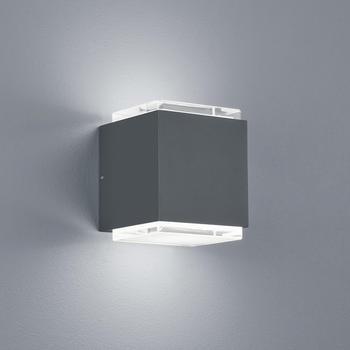 Helestra Isy LED graphit Glas satiniert (A28901.93)