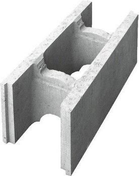 Lusit Betonschalungsstein 50 x 25 x 17,5 cm grau