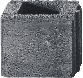 Diephaus Halbstein iBrixx System 25 x 25 x 20 cm Quarzit