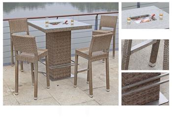 Garden Pleasure Bar-Set Alvito 5-tlg.