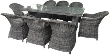 Baidani Rundrattan Garten Sitzgruppe Charming Select