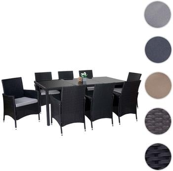 testberichte f r gartenm bel set geeignet f r 8 personen. Black Bedroom Furniture Sets. Home Design Ideas