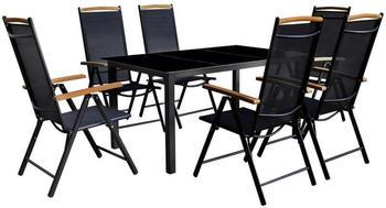 vidaxl-garten-essgruppe-7-tlg-aluminium-schwarz-klappbar-41734