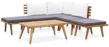 vidaXL 6-tlg. Garten-Lounge-Set (46677)