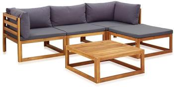 vidaXL Garden Set 5 Pieces Acacia Wood