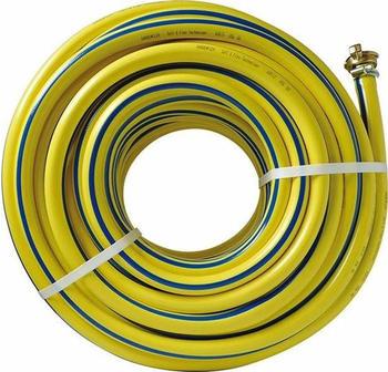 """Tricoflex Wasserschlauch Irriflex PVC gelb 3/4"""" mit Kupplung 50m – (110066)"""