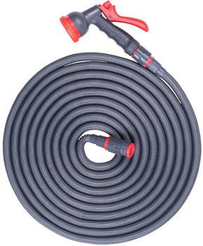 Steuber flexibler Wasserschlauch grau (8,5 - 16,5 m)