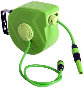 Outsunny Schlauchtrommel schwenkbar grün