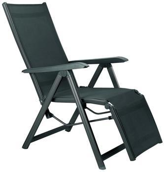 Kettler Basic Plus Relaxsessel Aluminium/Textilene anthrazit/anthrazit (0301216-7000)