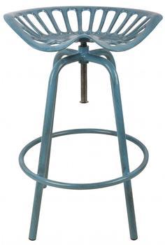 Esschert Traktorstuhl MF blau (IH034)