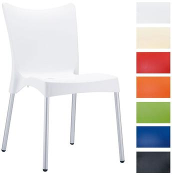CLP Stapelbarer Stuhl Juliette weiß