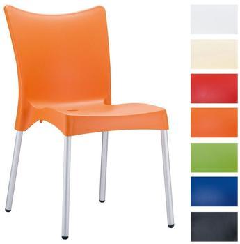 CLP Stapelbarer Stuhl Juliette orange