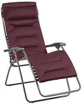 Lafuma RSX Clip XL AC Relaxliege Stahl/AirComfort Bordeaux (LFM 2041.8720)