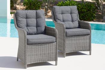Konifera Menorca 2er-Set Stühle inkl. Auflage (94854035)