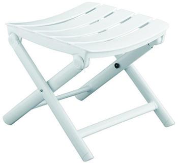 Kettler Riva Hocker weiß/weiß (01007-000)
