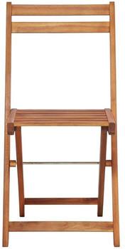 vidaXL Outdoor Bistro Chairs in Acacia (2 Pieces)