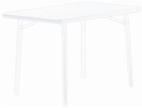 Sieger Klapptisch 115 x 70 cm weiß (Typ 120-W)