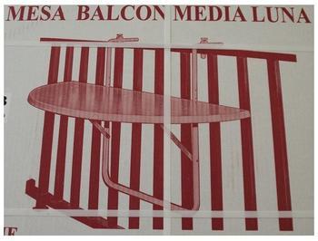 Alco Balkontisch klappbar 100x50cm weiß
