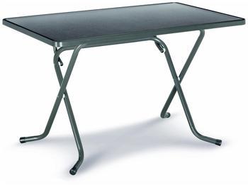 Best Primo Scherenklapptisch 110x70cm rechteckig anthrazit (26521150)