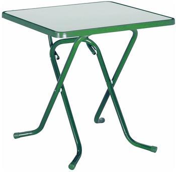 Best Primo Scherenklapptisch 67x67cm quadratisch grün (26527030)