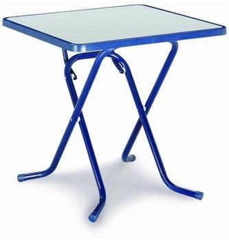 Best Primo Scherenklapptisch 67x67cm quadratisch blau (26527020)
