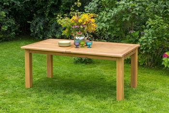 MERXX Gartentisch 260 x 100 cm ausziehbar