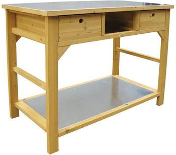 Habau Gartentisch mit Schublade (3107)