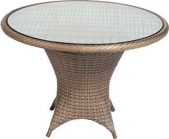 SonnenPartner Bonaire Tisch Ø 90 cm (Polyrattan)
