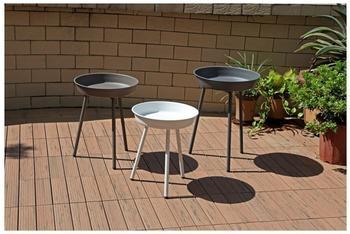Garden Pleasure Beistelltisch-Set AREZZO, 3teilig, 3 farbig