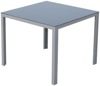 Outsunny Alu-Glastisch 87x87cm (84B-100)