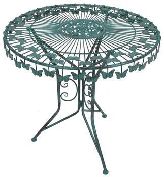 Garden Pleasure Deko-Tisch mit Schmetterlingsmotiv
