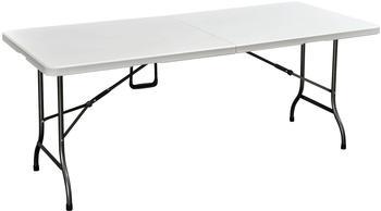 Harms Import Mufaro 180 x 75 cm weiß klappbar
