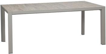 Siena Garden Silva 182x100cm Light Grey/Silver