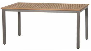 Siena Garden Geneva Dining Tisch 160x90cm Alu / Teak
