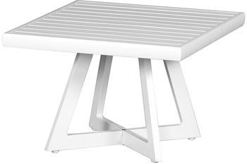 Siena Garden Alexis 50x50 cm Aluminium Weiß