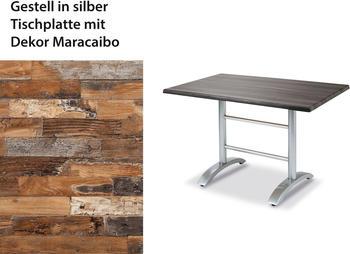 Best Maestro 120x80cm silber/braun