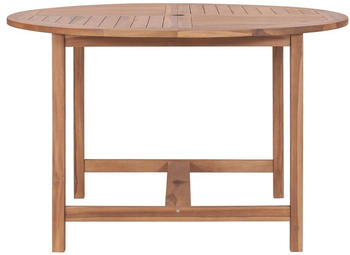 vidaXL Garden Table in Teak 120 x 76 cm