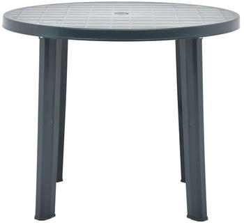 vidaXL Garden Table in Green Plastic 89 cm