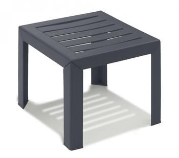Grosfillex Garden low table Miami Anthracite (53001002)