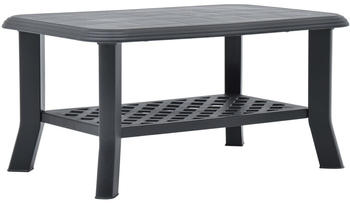 vidaXL Indoor/Outdoor Coffee Table, Anthracite
