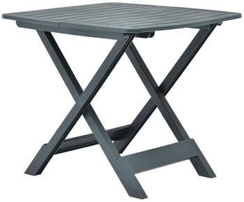 vidaXL Garden Table Foldable in Green Plastic