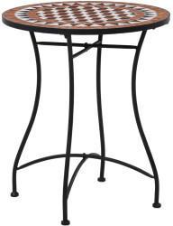 VidaXL vidaXL Mosaik-Bistrotisch 60cm Keramik Braun