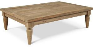 Outflexx Loungetisch 120x80x31cm natur/beige