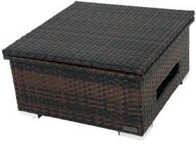 Outflexx Loungetisch 75/152x75x40/645cm braun