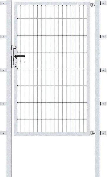 GAH-Alberts Doppelstab-Gartentor BxH: 100 x 100 cm anthrazit